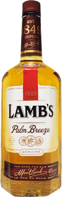 Medium lamb s palm breeze rum