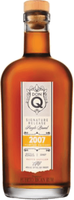 Medium don q signature release single barrel 2007