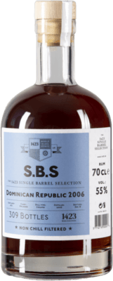 Medium s b s 2006 dominican republic highland malt finish