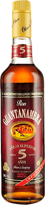 Medium guantanamera 5 year rum 400px