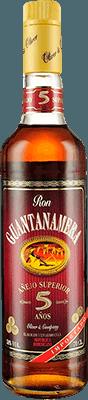 Medium guantanamera 5 year rum 400px