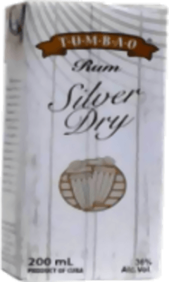 Medium tumbao silver dry