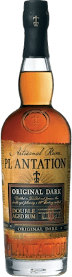 Medium plantation original dark double aged rum 400px