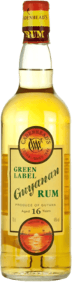 Medium cadenhead s guyanan green label 16 year
