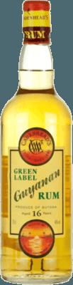 Medium cadenhead s guyanan green label 16 year