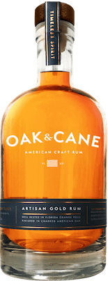 Medium oak   cane artisan gold rum 400px