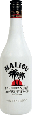 Medium malibu  coconut rum 400px