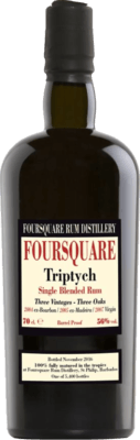 Medium foursquare triptych