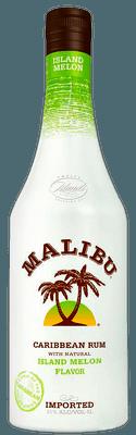 Medium malibu melon rum