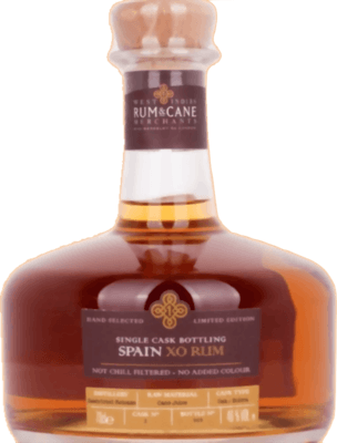 Medium west indies rum and cane spain xo single cask