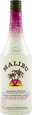 Medium malibu passionfruit rum