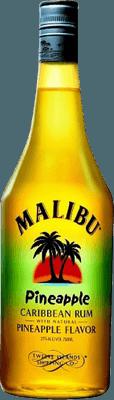 Medium malibu pineapple rum