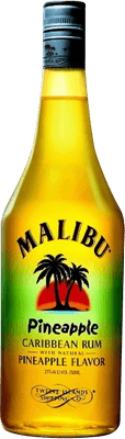 Medium malibu pineapple rum