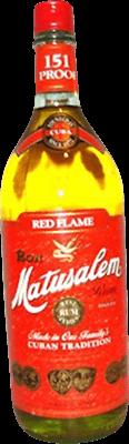 Matusalem 151 red flame rum 400px