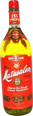 Medium matusalem 151 red flame rum 400px