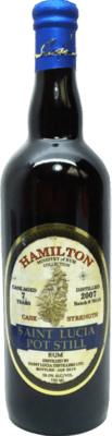 Medium hamilton 2007 st lucia pot still 7 year