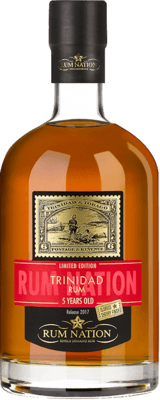 Medium rum nation trinidad 5 year