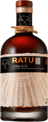 Medium rum company of fiji ratu dark 5 year