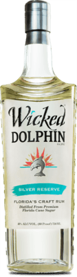 Medium wicked dolphin silver reserve