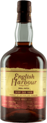 Medium english harbour small batch sherry cask finish