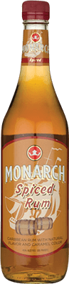 Monarch spiced rum 400px