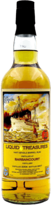 Medium liquid treasure 2004 barbancourt haiti 13 year