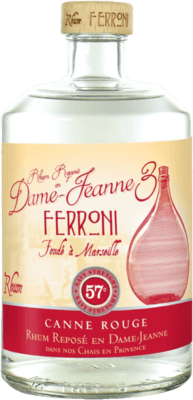 Medium ferroni la dame jeanne 3 canne rouge