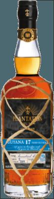 Medium plantation guyana single cask cognac ancestral finish 17 year