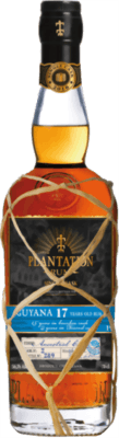 Medium plantation guyana single cask cognac ancestral finish 17 year