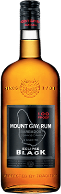 Medium mount gay eclipse black rum
