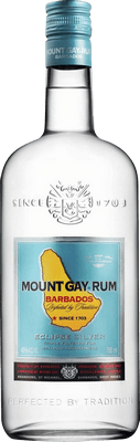 Medium mount gay eclipse silver rum
