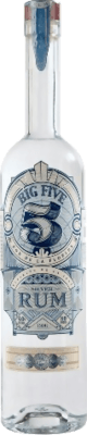 Medium big five rum silver