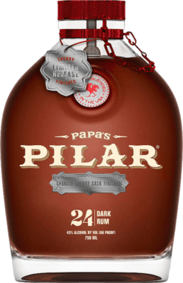 Medium papas pilar spanish sherry cask finished 24 year