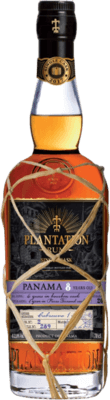 Medium plantation panama single cask cabreuva finish 8 year