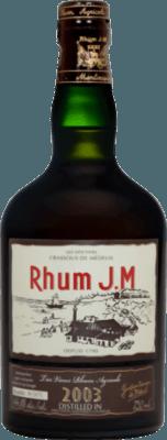 Medium rhum jm vintage 2003