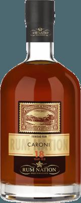 Medium rum nation caroni 1998 rel 2016 18 year
