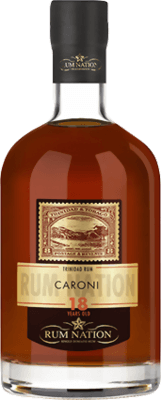 Medium rum nation caroni 1998 rel 2016 18 year
