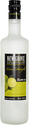 Medium new grove lime delight rum