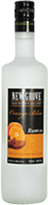 Medium new grove orange bliss rum