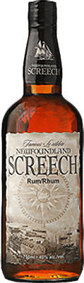 Medium newfoundland screech rum