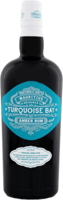 Medium turquoise bay amber