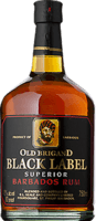 Small old brigand black label rum