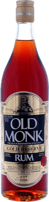 Medium old monk gold reserve rum