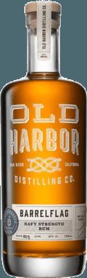 Medium old harbor distilling barrelflag navy strength