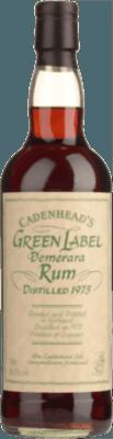 Medium cadenhead s 1975 green label demerara