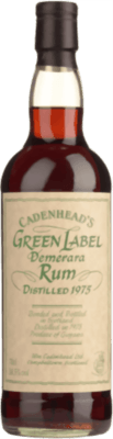 Medium cadenhead s 1975 green label demerara
