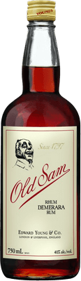 Medium old sam rhum demerara rum