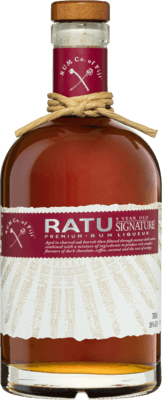 Medium rum company of fiji ratu 8 year