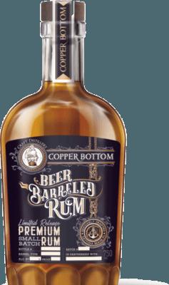 Medium copper bottom beer barreled