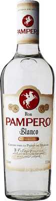 Medium pampero  blanco rum